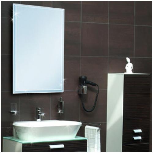 Badspiegel 900 x 900 mm (15-mm Facette)