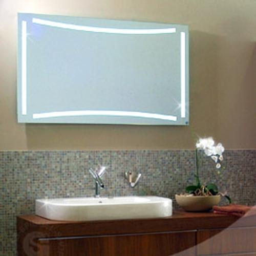 Hinterleuchteter Badspiegel Livorno 800 x 600mm